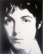 Paul Mccartney Portrait Paintings - Paul McCartney by Michael James  Toomy