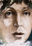 Paul Mccartney Painting Prints - Paul Print by Michael Lang