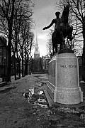 Statue Art - Paul Revere by Andrew Kubica