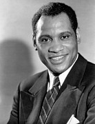 Lapel Framed Prints - Paul Robeson, Ca. 1930s Framed Print by Everett