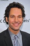 Cipriani Restaurant Wall Street Metal Prints - Paul Rudd At Arrivals For Ifps 20th Metal Print by Everett