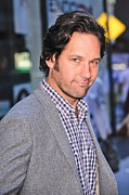 Celebrity Candids - Monday Framed Prints - Paul Rudd, Leaves The Today Show Taping Framed Print by Everett