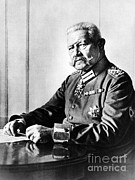 Nazi Party Metal Prints - Paul Von Hindenburg, Prussian-german Metal Print by Omikron