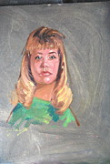 Sweater Painting Originals - Paula by Len Stomski