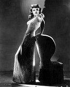 Evening Gown Photos - Paulette Goddard In Typically Classy by Everett