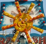 Smiley Face Posters - Pavilion Sunshine Poster by Kelly Mezzapelle