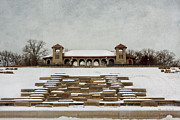 Lori Peterson - Pavillion in the snow