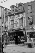 Entrance Shop Front Prints - Pawn Shop, Photograph, 1900s-1930s Print by Everett