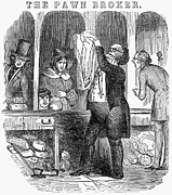 1845 Photos - Pawnbroker, 1845 by Granger