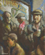 Pub Mixed Media - Pay Day by Jim McDonald