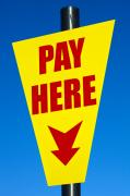 Pay Here Framed Prints - Pay here Framed Print by John Rocha