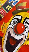 Circus Clown Posters - Payaso Poster by Skip Hunt