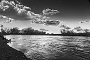 Flooding Prints - Payette in the Spring Print by Robert Bales