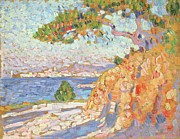 Blue Green Water Art - Paysage du Midi by Theo van Rysselberghe