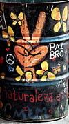 Can Art Prints - Paz Bro Print by John Rizzuto