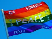 Bunt Prints - Peace - Paz - Paix Print by Juergen Weiss