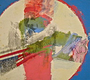 American Flag Mixed Media Originals - Peace At The Time Piece  by Cliff Spohn