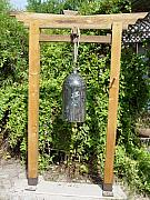 Garden Sculptures - Peace Bell  SOLD by Steve Mudge