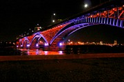 Jim Koniar - Peace Bridge at Night