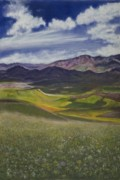 Mountain Valley Pastels - Peace by Deborah Brown