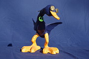 Peace Sculpture Prints - Peace Duck Print by Rick Ahlvers