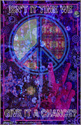 Rock And Roll Heaven Prints - Peace Print by John Goldacker