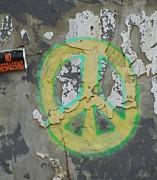 Peace No Trespassing Print by Todd Sherlock