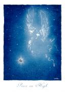 Christmas Angel Paintings - Peace on High... by Will Bullas