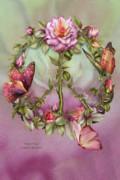 Peace Rose Print by Carol Cavalaris