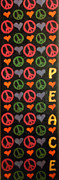 Hued Posters - Peace Poster by Sean Ward