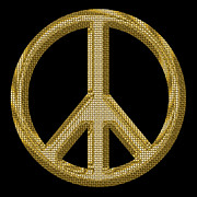 World Peace Art - Peace Sign 1 by Andrew Fare