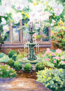 Denise Schiber - Peaceful Fountain
