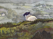 Lamb Originals - Peaceful Overlook by Marsha Elliott