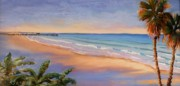 Impressionistic Landscape Paintings - Peaceful Pismo by Lynee Sapere