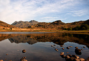 Langdale Framed Prints - Peaceful Waters in the Lake District Framed Print by Trevor Kersley