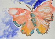 Michele Hollister - for Nancy Asbell - Peach Butterfly