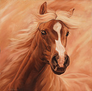 Rodeo Paintings - Peach by JQ Licensing