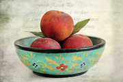Peach Pie Print by Darren Fisher