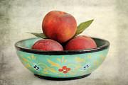 Peaches Print by Darren Fisher