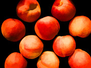 Peaches Digital Art Prints - Peaches Print by Joe Carini