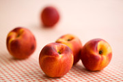 Peach Photos - Peaches  by Kati Molin