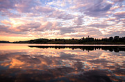 Jenny Rainbow - Peacock Sunrise. Ladoga Lake. Northern Russia