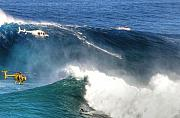 Jaws Art - Peahi Maui by Dustin K Ryan