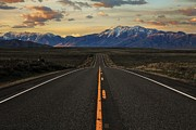 Peaks To Craters Highway Print by Benjamin Yeager