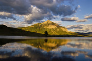 Crested Butte Prints - Peanut Lake Reflections Print by Dusty Demerson