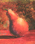 Sokolovich Painting Prints - Pear Right Print by Ann Sokolovich