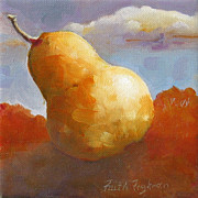 Faith Frykman Acrylic Prints - Pear3 Acrylic Print by Faith Frykman