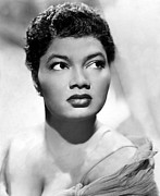1950s Music Posters - Pearl Bailey, Portrait Ca. 1952 Poster by Everett