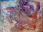Chromatic Mixed Media Prints - Pearl Essence Print by Don  Wright