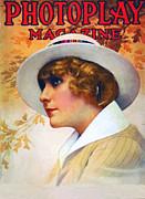 Pearl White 1914 Print by Stefan Kuhn